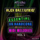 ABJ: Essential UK Hardcore MIDI Melodies Vol 1
