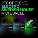 Progressive, Electro & Swedish House MIDI Bundle