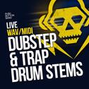 Live Dubstep & Trap Drum Stems