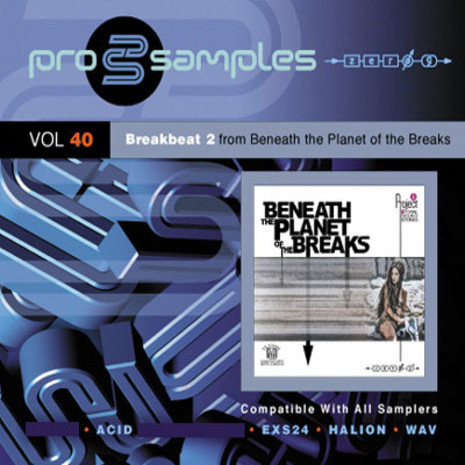 ProSamples Vol 40: Breakbeat 2