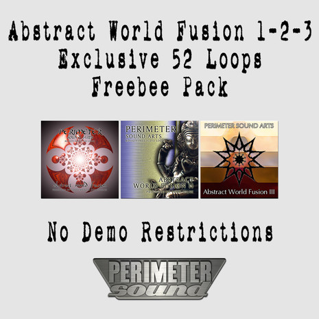 Download Free Abstract World Fusion Loops