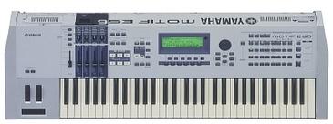 Yamaha Motif ES Film 5-D Soundset