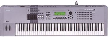 Yamaha Motif Rack Synth sFX Soundset