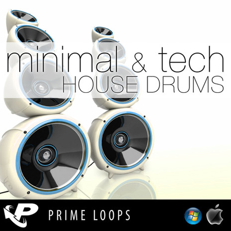 Minimal & Tech House Drums (Reason Refill)