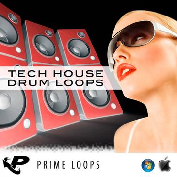 Tech House Drum Loops (Multi-Format)