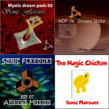 Mystic Dream Pads Bundle 2 (Vols 05-08)