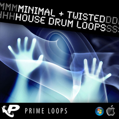 Minimal & Twisted House Drum Loops (Multi-Format)