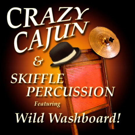 Crazy Cajun & Skiffle Percussion (24-bit)