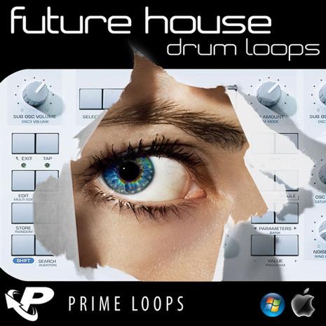 Future House Drum Loops (Multi-Format)
