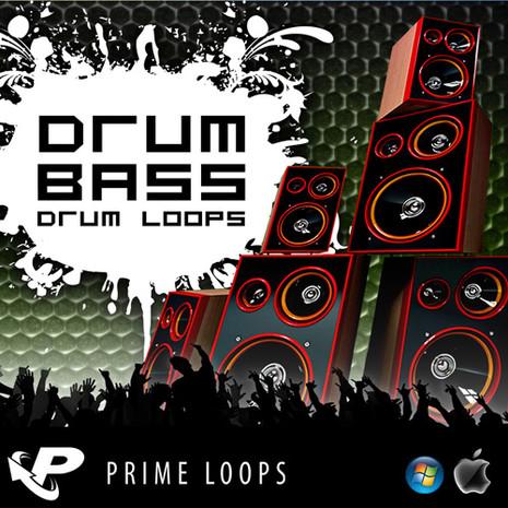 Drum 'n' Bass Drum Loops (Multi-Format)