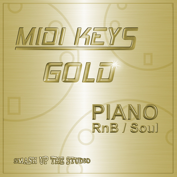 MIDI Keys Gold: Piano RnB & Soul