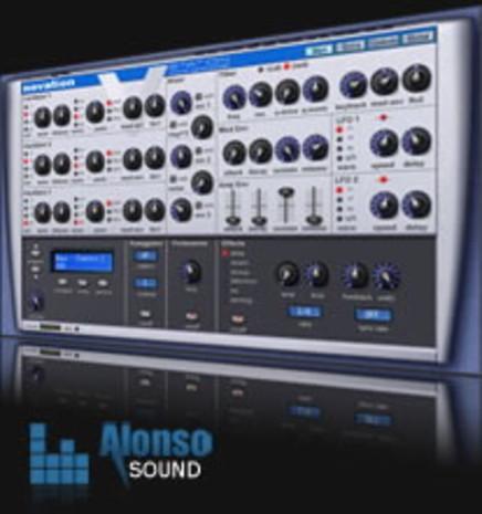Alonso V-Station Electro Bass Soundset