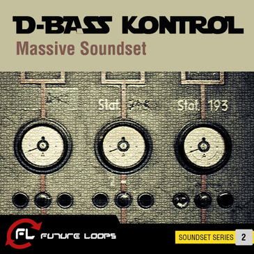 D-Bass Kontrol: Massive Soundset