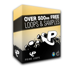 500MB Royalty-Free Samples from Prime Loops