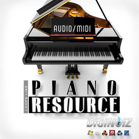 Piano Resource (MIDI+Audio)
