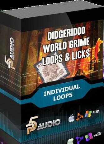 World Grime Loops and Licks: Didgeridoo