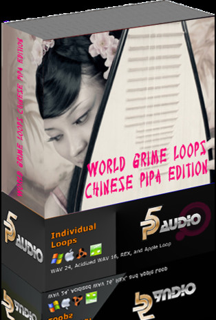 World Grime Loops and Licks: Chinese Pipa