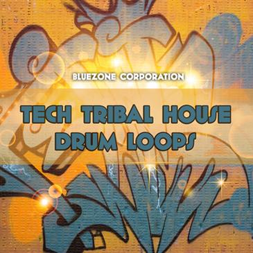 Tech Tribal House Drum Loops