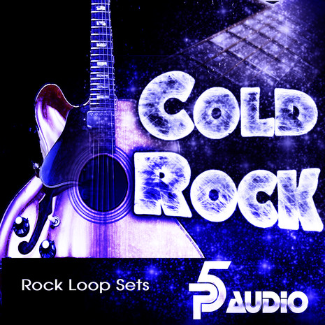 Cold Rock Guitar and Bass Loops