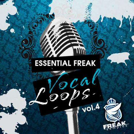 Essential Freak Vocal Loops Vol 4