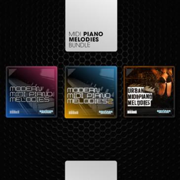 MIDI Piano Melodies Bundle