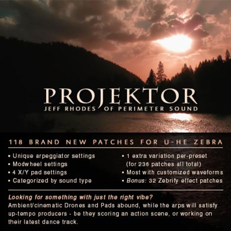 Projektor: Zebra 2.5