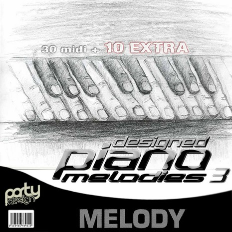 Designed Piano Melodies Vol 3