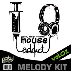 House Addic download party design future house leads | producerloops