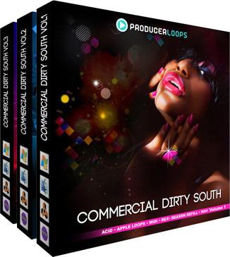 Commercial Dirty South Bundle (Vols 1- 3)