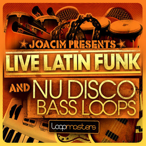Live Latin Funk And Nu Disco Bass Loops