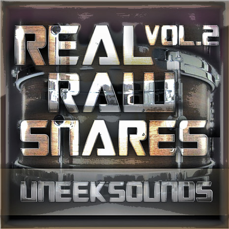 Real Raw Snares Vol 2