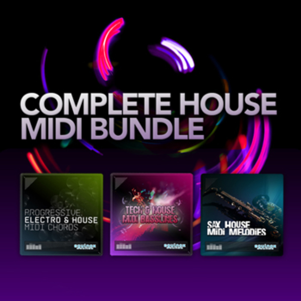 Complete House MIDI Bundle