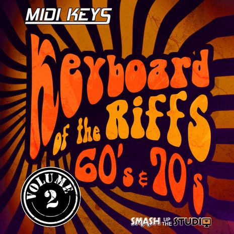 MIDI Keys: Keyboard Riffs Of The 60's & 70's Vol 2