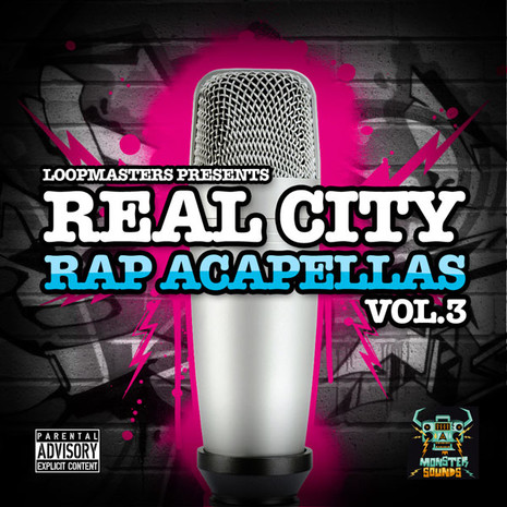 Real City Rap Acapellas Vol 3