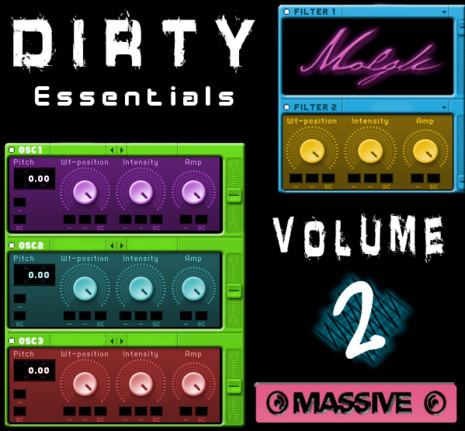 Dirty Essentials Vol 2: NI Massive Soundbank