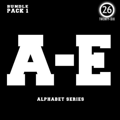 Alphabet Series: A-E Bundle