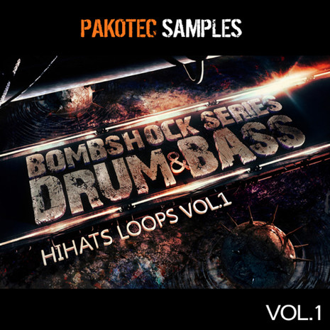 Bombshock: D&B Hi-Hat Loops Vol 1