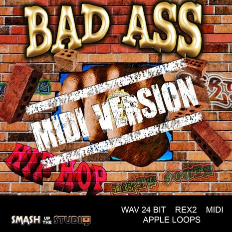 Bad Ass Hip Hop: MIDI Version