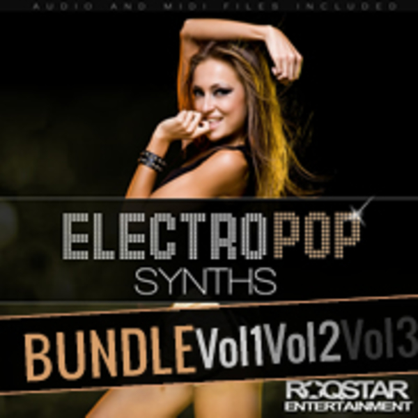 Electro Pop Synths Bundle (Vols 1-3)