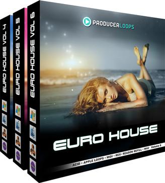 Euro House Bundle (Vols 4-6)