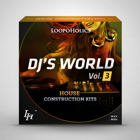 DJ's World Vol 3: House Construction Kits
