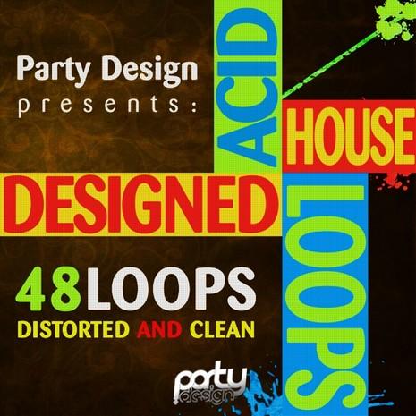 Designed Acid House Loops