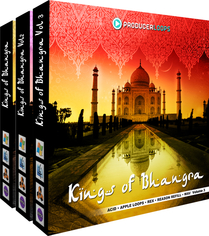 Kings of Bhangra Bundle (Vols 1-3)