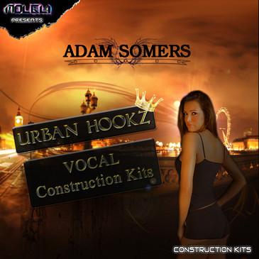 Adam Somers' Urban Hookz Vocal Construction Kits