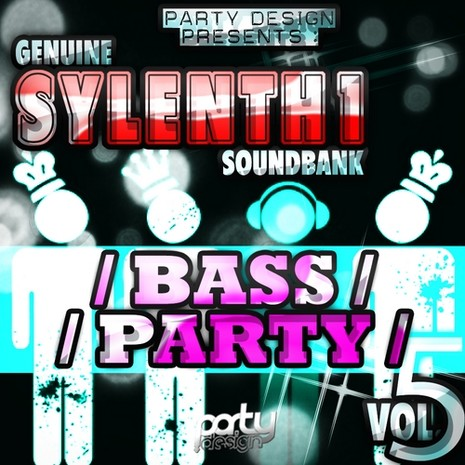 Genuine Sylenth1 Soundbank 5 Bass Party