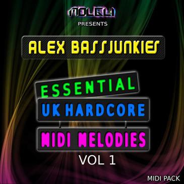 ABJ: Essential UK Hardcore MIDI Melodies Vol 1