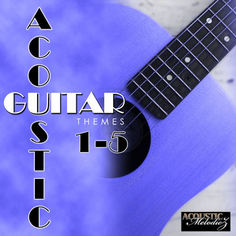 Acoustic Guitar Themes Bundle (Vols 1-5)