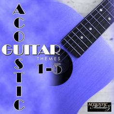 Acoustic Guitar Themes Bundle (Vols 1-5)