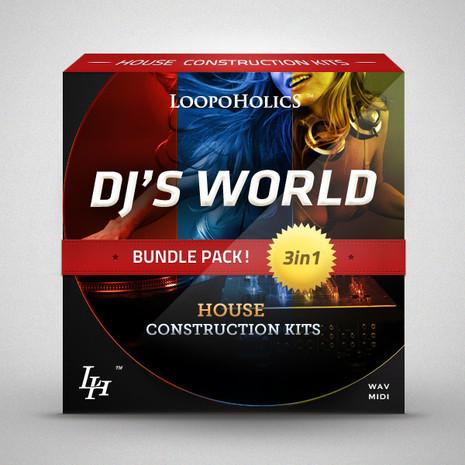 DJ's World Bundle: House Construction Kits