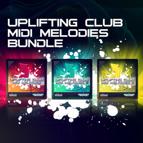 Uplifting Club MIDI Melodies Bundle (Vols 1-3)
